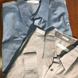 Bundle two men's Calvin Klein shirts